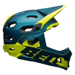 Kask rowerowy Bell Super Dh Mips Spherical niebiesko-żółty