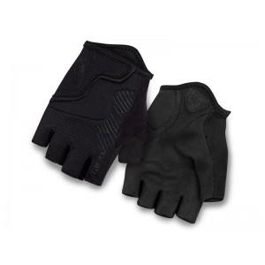 Rękawiczki rowerowe Giro Bravo Jr czarne