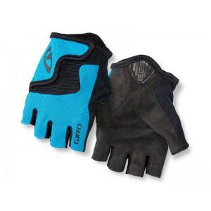 Rękawiczki rowerowe Giro Bravo Jr niebieskie