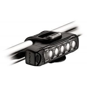 Lampka rowerowa przednia Lezyne Strip Drive 400 lum usb czarna