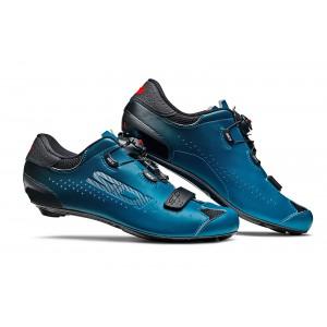 Buty rowerowe Sidi Sixty niebiesko-czarne + Ebon 140