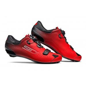 Buty rowerowe Sidi Sixty czerwono-czarne + Ebon 140