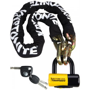 Kryptonite New York Fahgettaboudit Chain 150cm Chain with a padLock