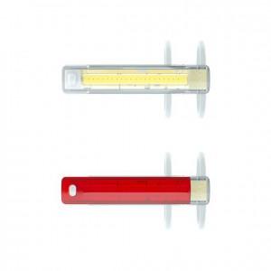 Zestaw lampek Knog Plus Twinpack transparentny