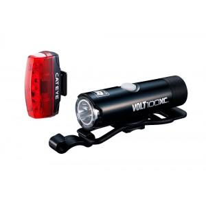 Zestaw lamp Cateye HL-EL051 VOLT100XC / TL-LD620 Rapid Micro