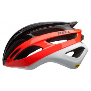 Kask rowerowy Bell Falcon Mips matte gloss black infrared