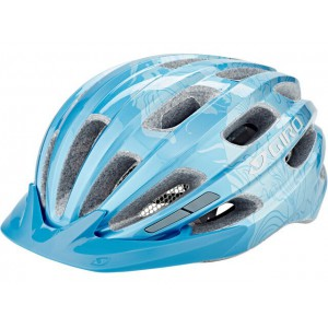 Kask rowerowy Giro Register Ice Blue Floral