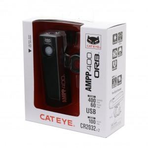 Zestaw lamp Cateye AMPP400 HL-EL084RC / SL-LD160 ORB
