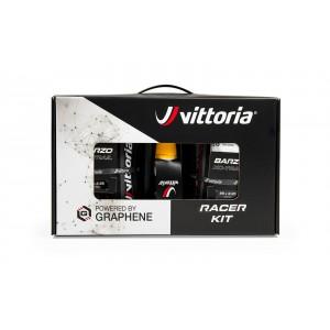 Zestaw Vittoria Barzo G2.0 29x2.25, czarno-antracytowa, zwijana, TNT+ Pit Stop 250