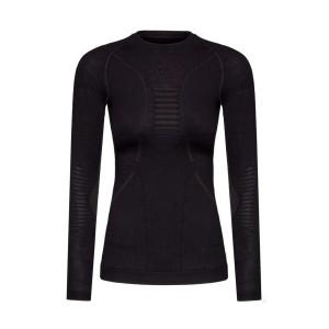 Koszulka damska X-Bionic Apani 4.0 Merino czarna