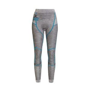 X-Bionic Apani 4.0 Merino Pants Woman Black/Grey/Turquiose