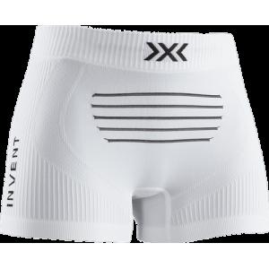 Bokserki damskie X-Bionic Invent 4.0 LT Light Boxer Shorts Woman Białe
