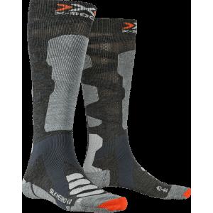 Skarpety męskie X-Socks Ski Silk Merino 4.0 Men Szare