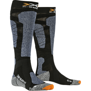 Skarpety męskie X-Socks Carve Silver 4.0 Men Czarno-Niebieskie