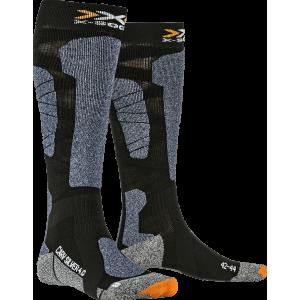 X-Socks Carve Silver 4.0 Men Black/Blue Melange