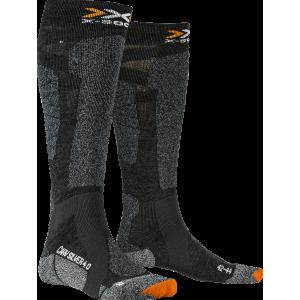 X-Socks Carve Silver 4.0 Men Anthracite Melange/Black Melange