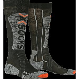 Skarpety męskie X-Socks Ski Energizer 4.0 LT Men Czarno-Szare