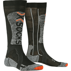 X-Socks Ski Energizer 4.0 LT Men Black/Stone Grey Melange