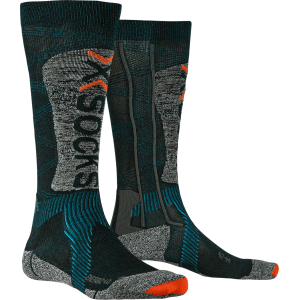 X-Socks Ski Energizer 4.0 LT Men Petrol/Stone Grey Melange