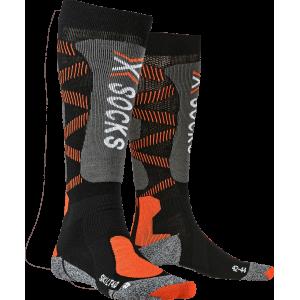 Skarpety męskie X-Socks Ski 4.0 LT Men Czarno-Pomarańczowe