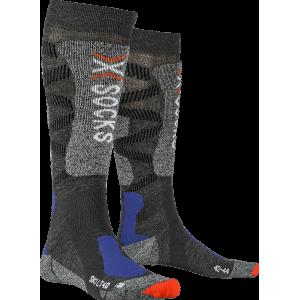 X-Socks Ski 4.0 LT Men Anthracite Melange/Stone Grey Melange