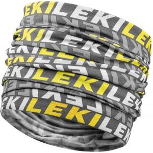 Leki MuLeki Multiscarf anthracite/black/yellow