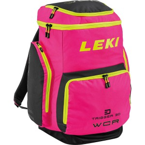 Leki Ski Boot Bag WCR 85 L pink / black / yellow
