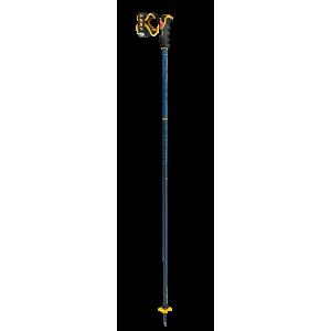 Kije Leki Spitfire 3D niebiesko / żółty