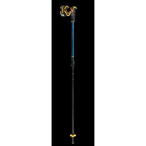 Kije Leki Spitfire Vario 3D niebiesko / żółty