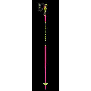 Kije Leki WCR Lite SL 3D różowo / żółty