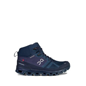 Buty On Running Cloudrock Waterproof Man Granatowe