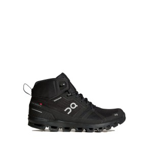 Buty On Running Cloudrock Waterproof Woman Czarne