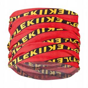 Leki Multiscarf Red / Black/ Yellow