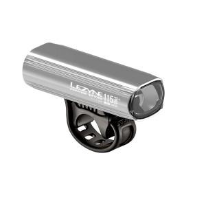 Lampka rowerowa przednia Lezyne Power STVZO PRO 115+ srebrna