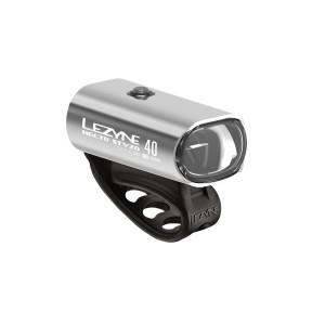 Lampka rowerowa przednia Lezyne Hecto Drive STVZO 40 Led srebrna