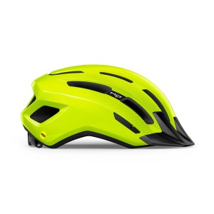 Met Downtown Mips Fluo Yellow Glossy