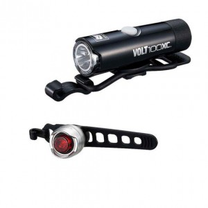 Zestaw lamp Cateye HL-EL051 VOLT100XC / SL-LD160 ORB 2021