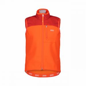 POC Race Vest Jr Fluorescent Orange