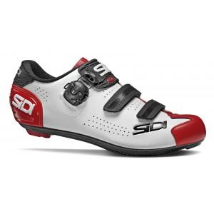 Buty rowerowe Sidi Alba 2 Biało-Czarno-Czerwone