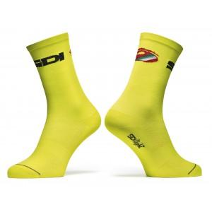 Sidi Color 2 Socks Fluo Yellow