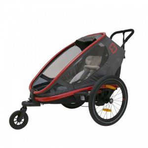 Hamax Outback One Charocal-Red