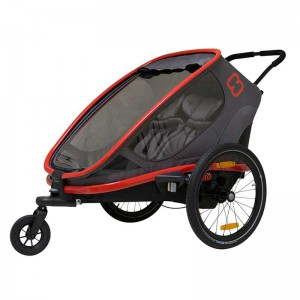 Hamax Outback Twin Charocal-Red