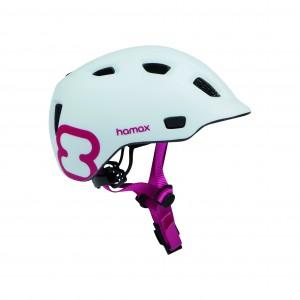 Helmet Hamax Thundercap White Pink