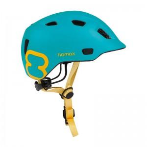 Kask rowerowy Hamax Thundercap Turkusowo-Żółty