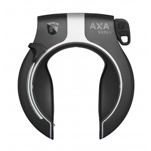 Blokada tylnego koła AXA Victory (Non Retractable) czarno-srebrna mat