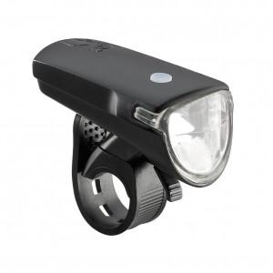 Lampa przednia AXA Greenline 35 lux czarna