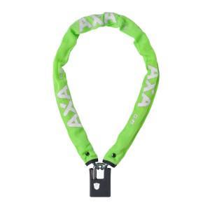 Zapięcie AXA Clinch+ 85 85 cm / 6 mm łańcuch z kłódką, zielone