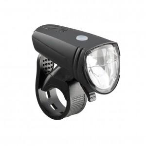 Lampa przednia AXA Greenline 15 lux czarna
