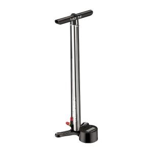 Lezyne Bike Floor Pump CNC Digital Drive Silver