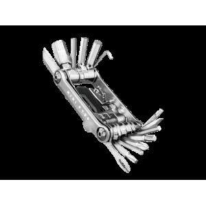 Topeak Mini PT30 srebrny - Zestaw 30 Narzędzi